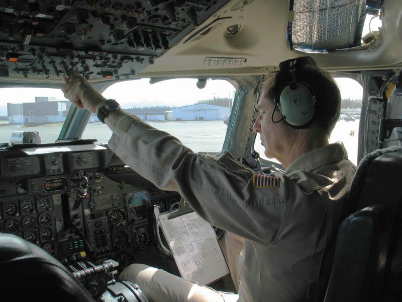 Bill In Dc 8 Cockpit Nasa Airborne Science Program