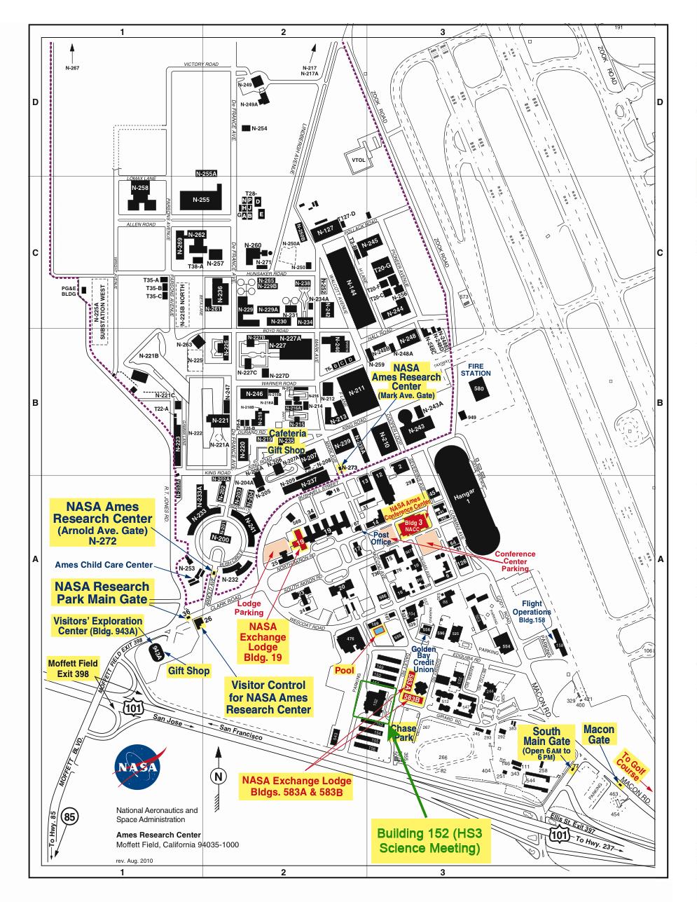 nasa ames research center address - photo #44