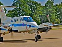 UC-12 aircraft