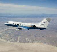 Gulfstream III in flight
