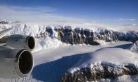 NASA DC-8 over Antarctica