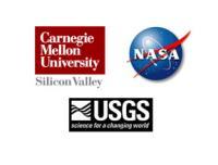 NASA, CMU and USGS logos