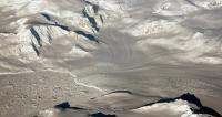 Glaciers seen during NASA's Operation IceBridge research flight to West Antarctica on Oct. 29, 2014. Image Credit:  NASA/Michael Studinger