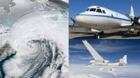 NASA's P-3 and ER-2 research planes are studying East Coast snowstorms Jan 17-Mar 1, 2020. Credit: NASA Credits: NASA