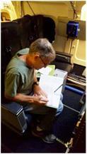 John Livingston on DC-8 during KORUS-AQ