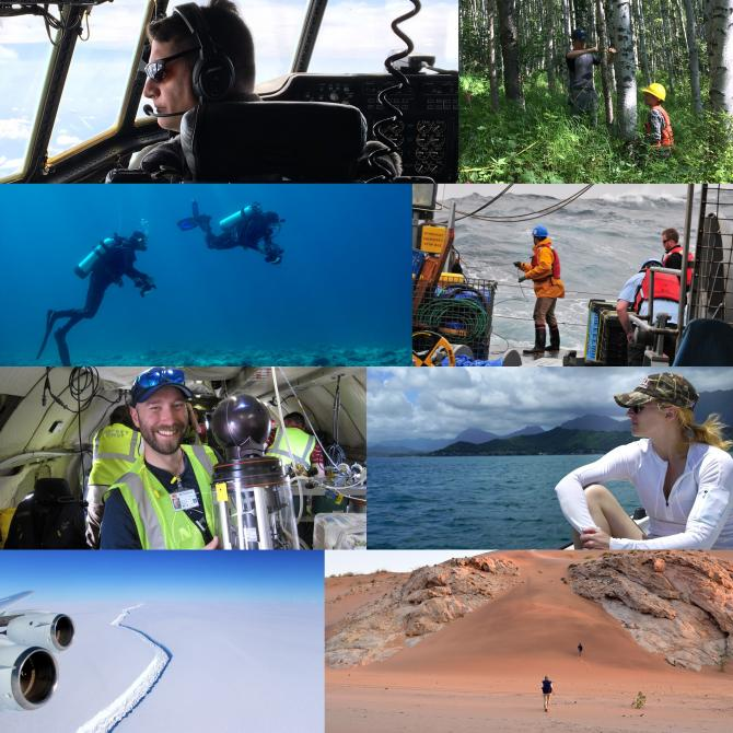 Three new NASA field research campaigns get underway around the world this year and nine continue fieldwork to give scientists a deeper understanding of how our home planet works. Credits: NASA