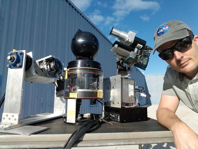 Sunphotometer fleet developments
