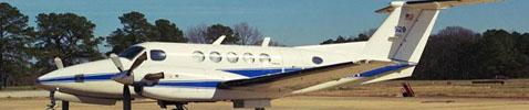 NASA Langley Beechcraft B200 King Air (NASA 529)