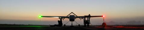 NASA SIERRA UAS at McMillan Airfield, Camp Roberts, CA