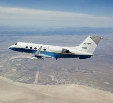 C-20A in flight