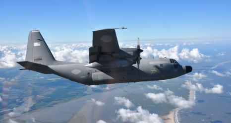 NASA's C-130H Hercules airborne laboratory begins research flights over the North Atlantic Nov. 12 from St. John's, Newfoundland, Canada, the agency's North Atlantic Aerosols and Marine Ecosystems Study (NAAMES).