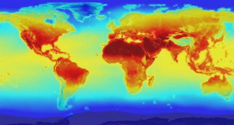 New NASA global data set to forecast future global temperature chages