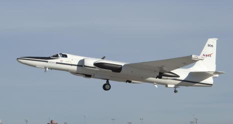NASA's ER-2 research aircraft.