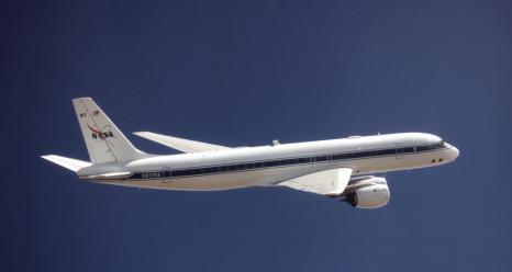 NASA's DC-8 airborne laboratory. Credits: NASA/AFRC