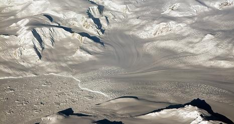 Glaciers seen during NASA's Operation IceBridge research flight to West Antarctica on Oct. 29, 2014. Image Credit:  NASA/Michael Studinger
