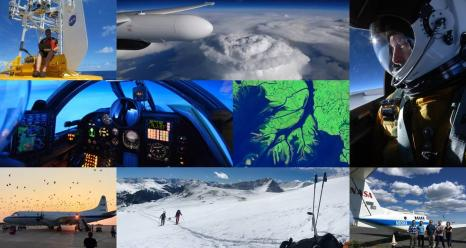 In 2020 NASA will deploy five new airborne campaigns across the United States to investigate fundamental Earth processes that affect human lives and the environment, from snowstorms along the East Coast to the sinking coastline of the Mississippi River delta. Credit: NASA Credits: NASA