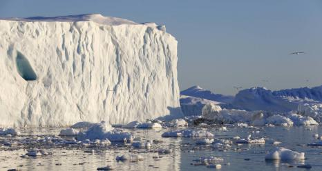 NASA's Oceans Melting Greenland field campaign is gathering data to clarify how warm ocean water is speeding the loss of Greenland's glaciers. Credits: NordForsk