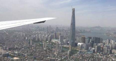 NASA and South Korea used research aircraft for an intensive study in and around the Seoul metropolitan area in 2016 to address the country's poor air quality and lay the groundwork for next-generation pollution-monitoring satellites. Credits: NASA