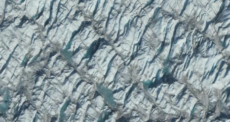 The Greenland Ice Sheet is the second-largest body of ice in the world, covering roughly 650,000 square miles of Greenland's surface. If it melts completely, it could contribute up to 23 feet of sea level rise, according to a new study using data from NASA's Operation IceBridge.